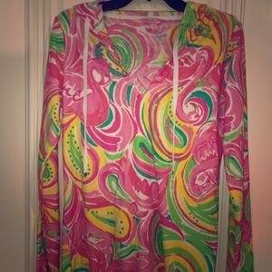 Lilly Pulitzer long top/ beach cover up